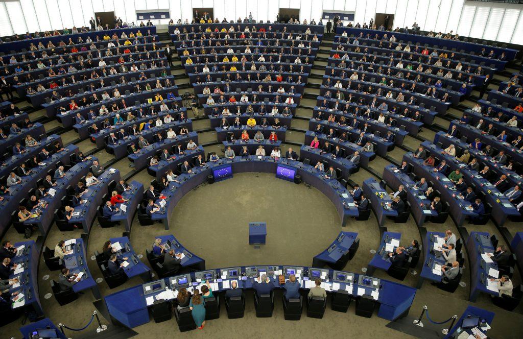 圖/新一屆歐盟議會在法國史特拉斯堡(Strasbourg)開議 。(REUTERS / Vincent Kessler / 達志影像)