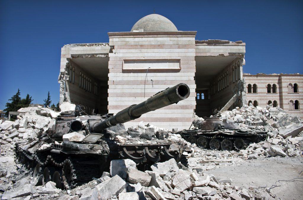 俄羅斯與土耳其同意降低敘利亞非戰區的緊張關係(圖/Christiaan Triebert/CC BY 2.0)