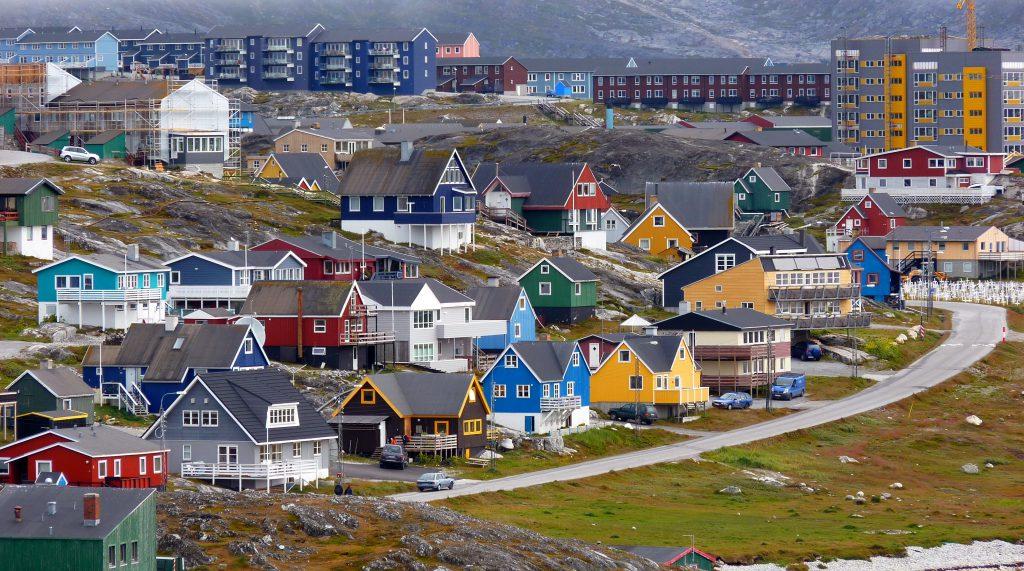 格陵蘭首都努克(圖/patano/CC BY-SA 3.0)